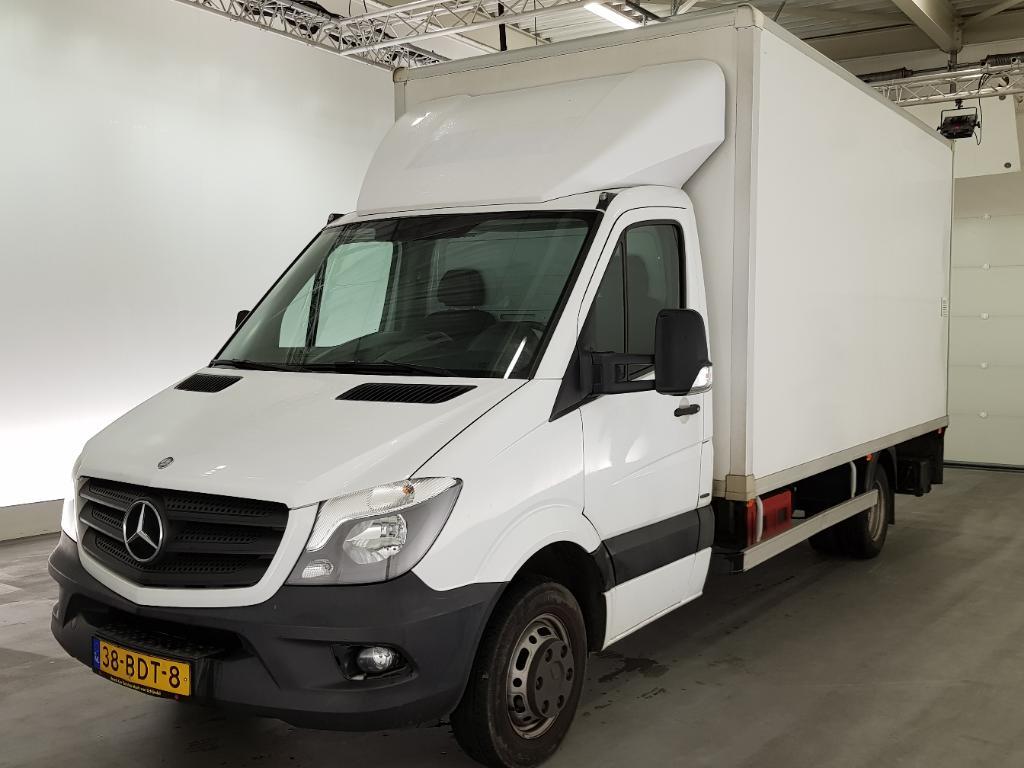 Mercedes-Benz SPRINTER  519 3.0 CDTi 4x2 Euro6 Bakwagen met Rolluik en halve Laadklep