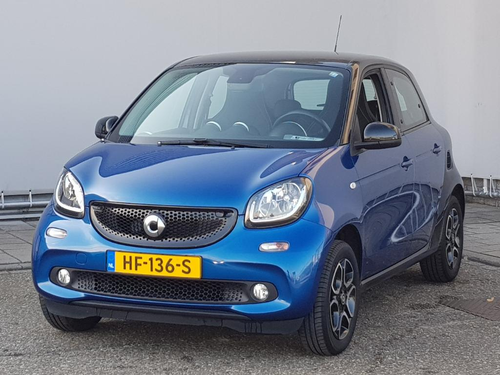 Smart FORFOUR  1.0 Prime Leder Stoelverw Airco Cool and Audio pakket