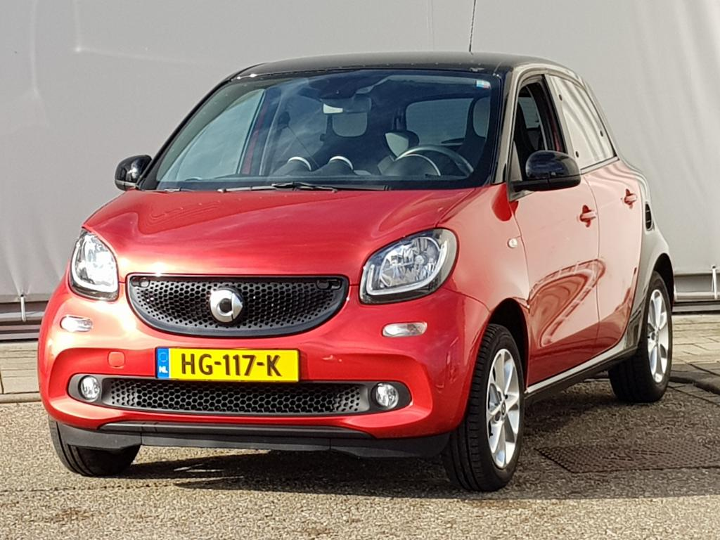 Smart FORFOUR  1.0 Joy Edition Passion Cool and Audio Comfort