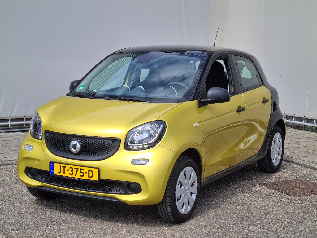 Smart FORFOUR  1.0 Pure Cool and Audio Comfort Urban