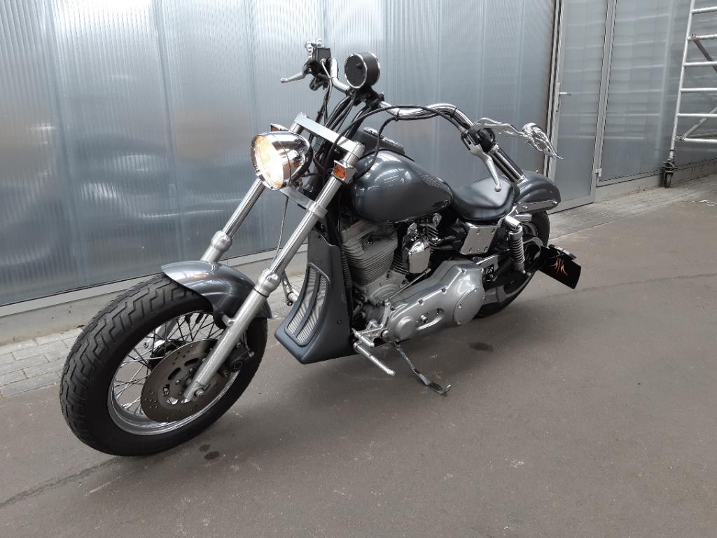 Harley Davidson Chopper 88 FXD Dyna Super Gl