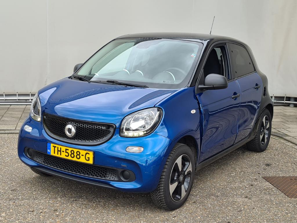 Smart FORFOUR  1.0 Pure Plus LM Cool and Audio Comfort