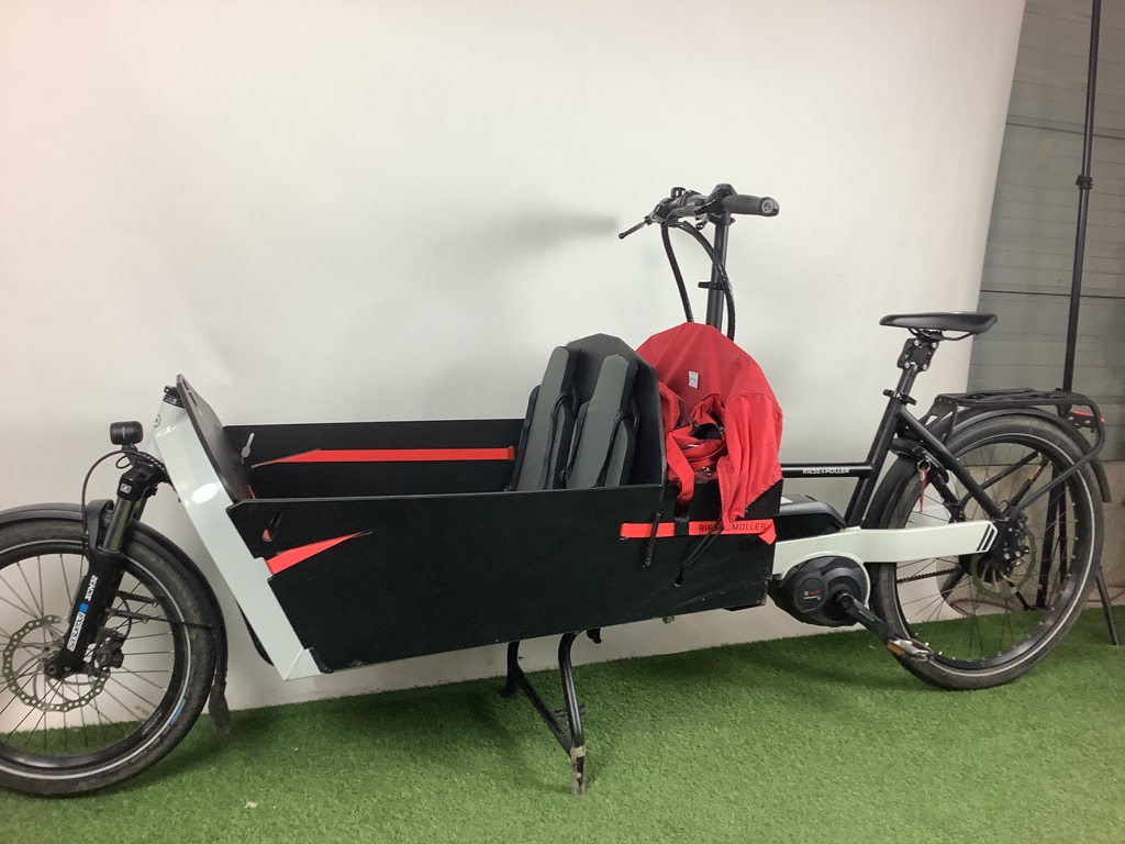 R&M Bakfiets Riese & Muller Packster 80 Cario CX Belt 500Wh