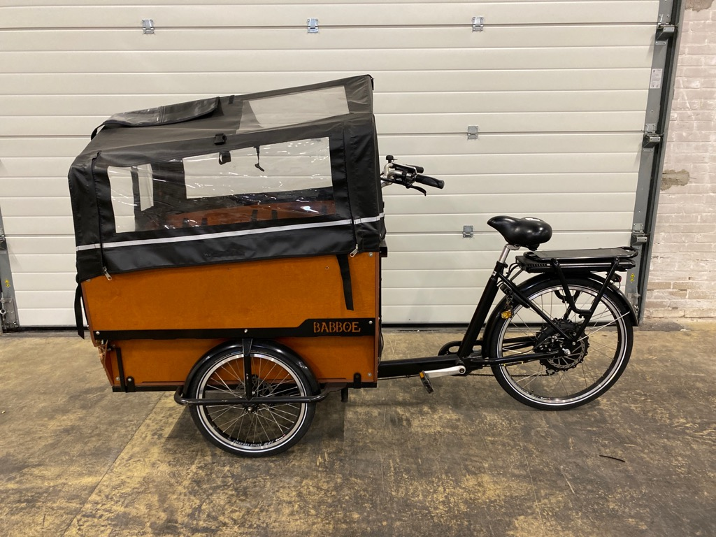 Babboe Bakfiets Babboe Max-E incl. accessoires