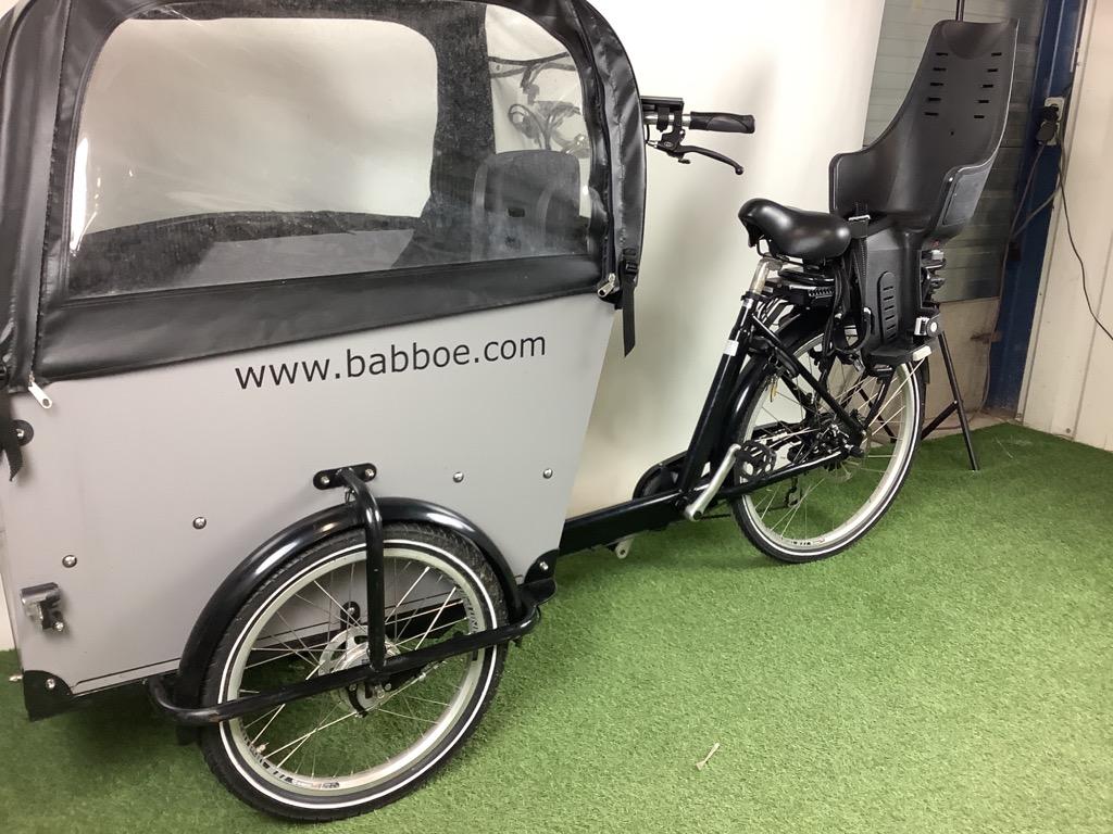 Babboe Bakfiets Babboe Big-E incl. accessoires