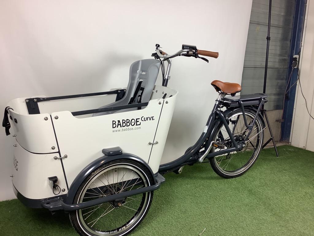 Babboe Bakfiets Babboe Curve-E incl. accessoires