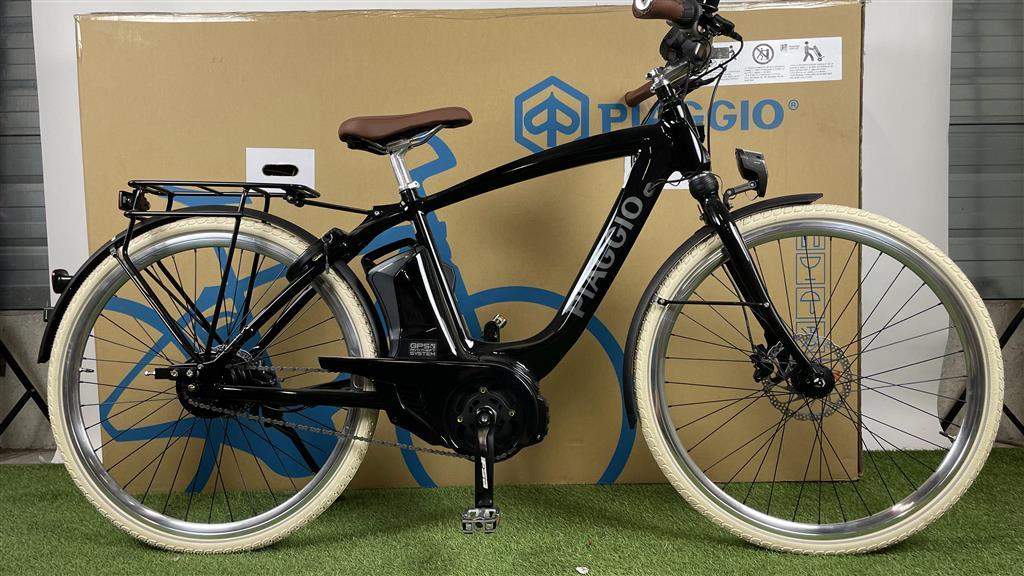 Piaggio E-bike Piaggio Mas Mech Comfort+ Nero Lucido 400Wh 50cm