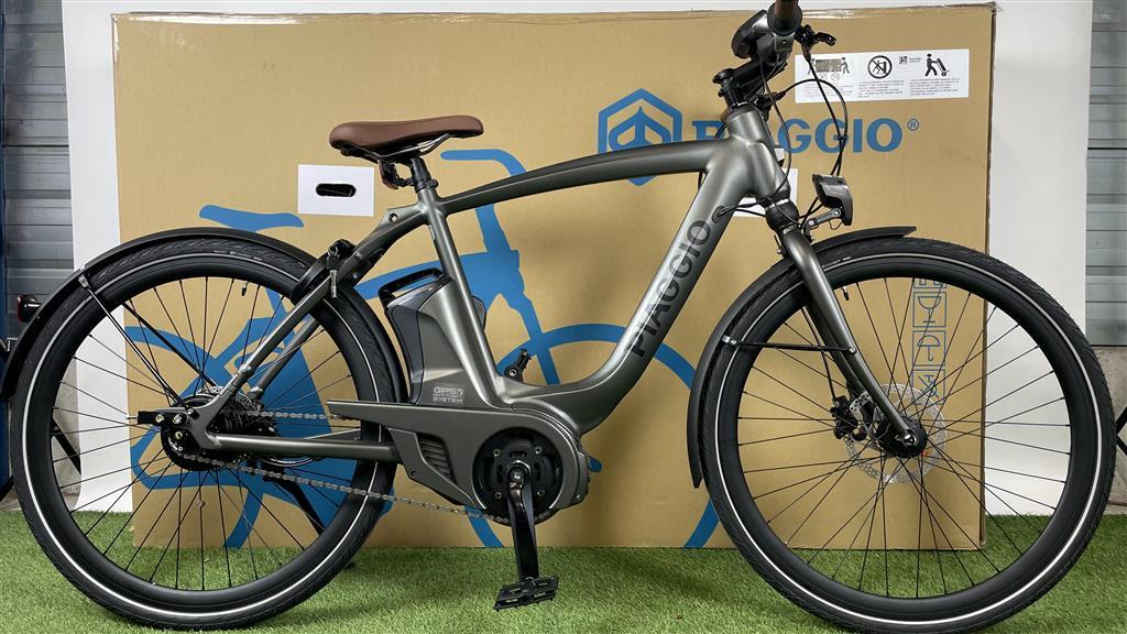 Piaggio E-bike Piaggio Mas Mech Active+ Verde Opaco 400Wh 55cm